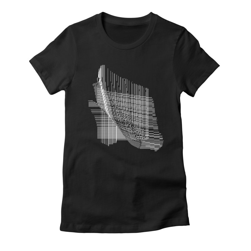 parallel facf40d Women's Fitted T-Shirt by inconvergent