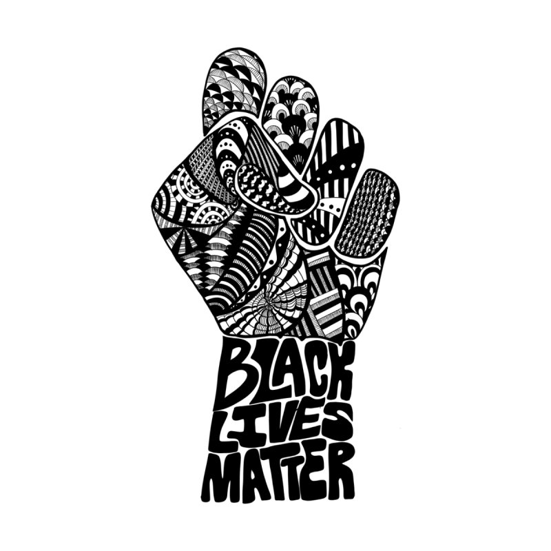 Black Lives Matter - B Men's T-Shirt by Incredibly Average Online Store