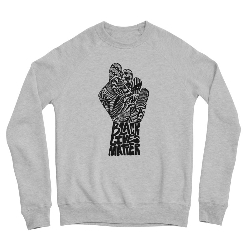 Black Lives Matter - B Men's Sweatshirt by Incredibly Average Online Store