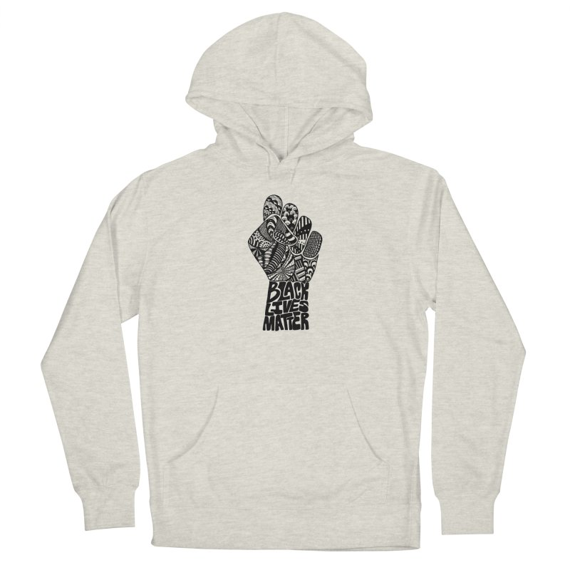Black Lives Matter - B Men's Pullover Hoody by Incredibly Average Online Store