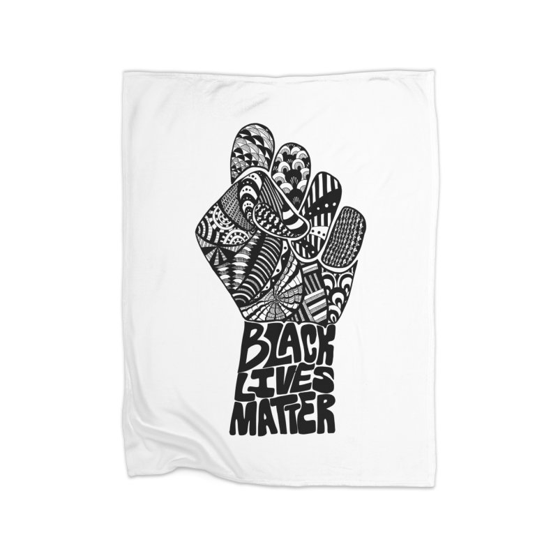 Black Lives Matter - B Home Blanket by Incredibly Average Online Store