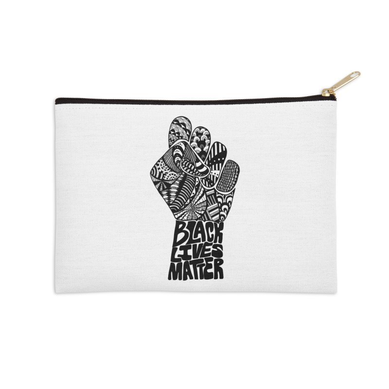 Black Lives Matter - B Accessories Zip Pouch by Incredibly Average Online Store