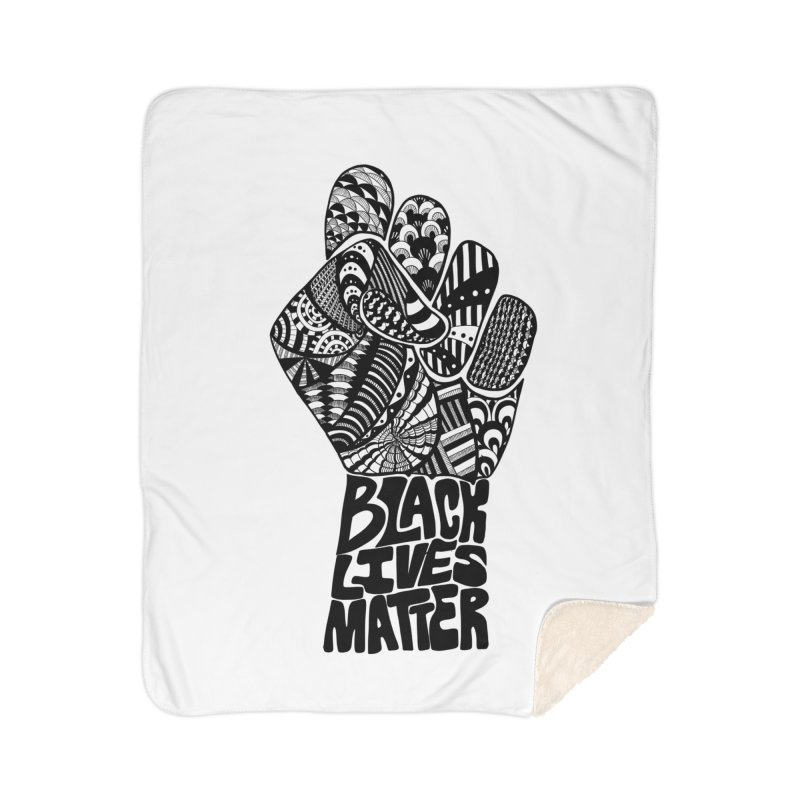 Black Lives Matter - B Home Blanket by Incredibly Average Online Store