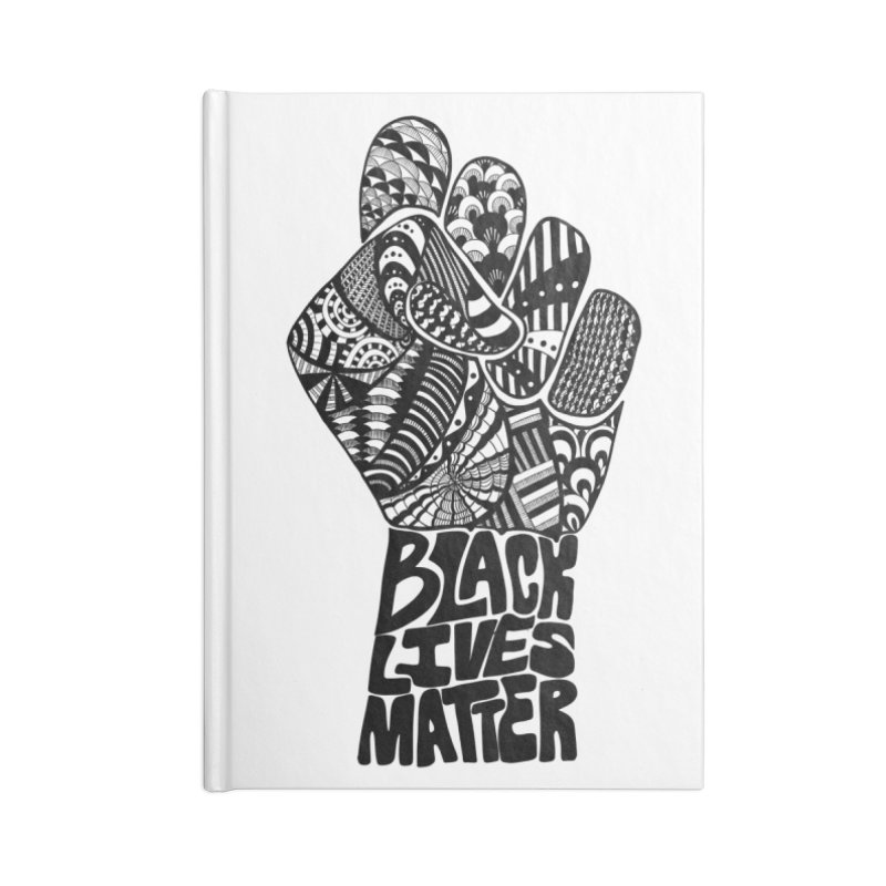Black Lives Matter - B Accessories Notebook by Incredibly Average Online Store