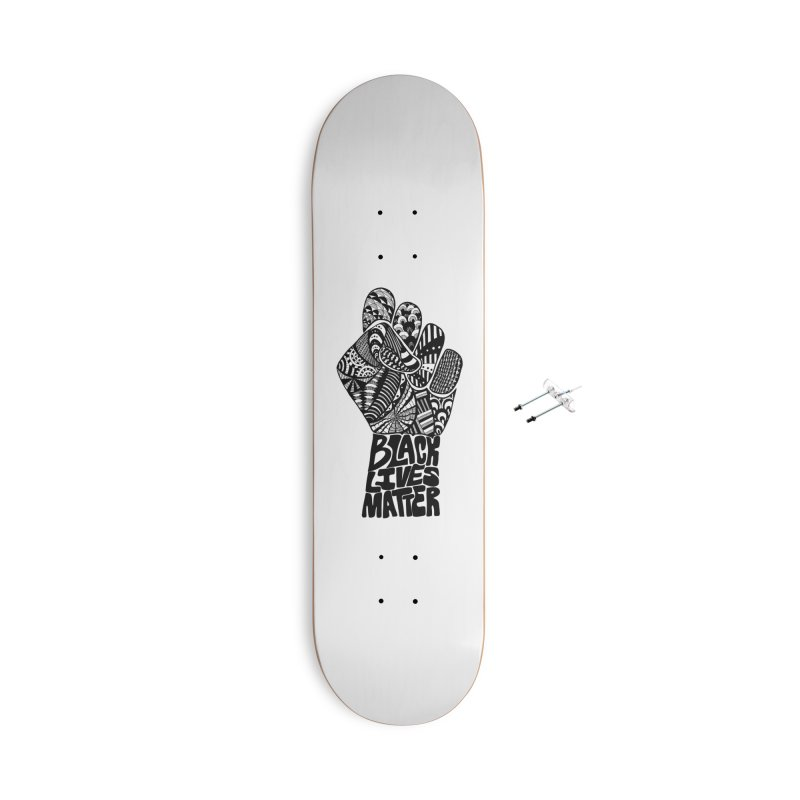 Black Lives Matter - B Accessories Skateboard by Incredibly Average Online Store