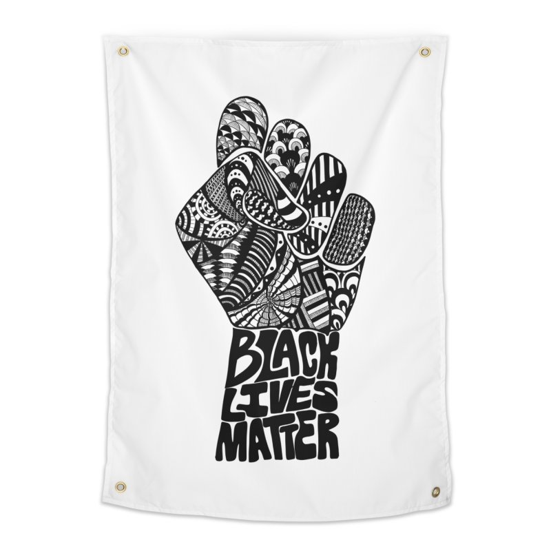 Black Lives Matter - B Home Tapestry by Incredibly Average Online Store