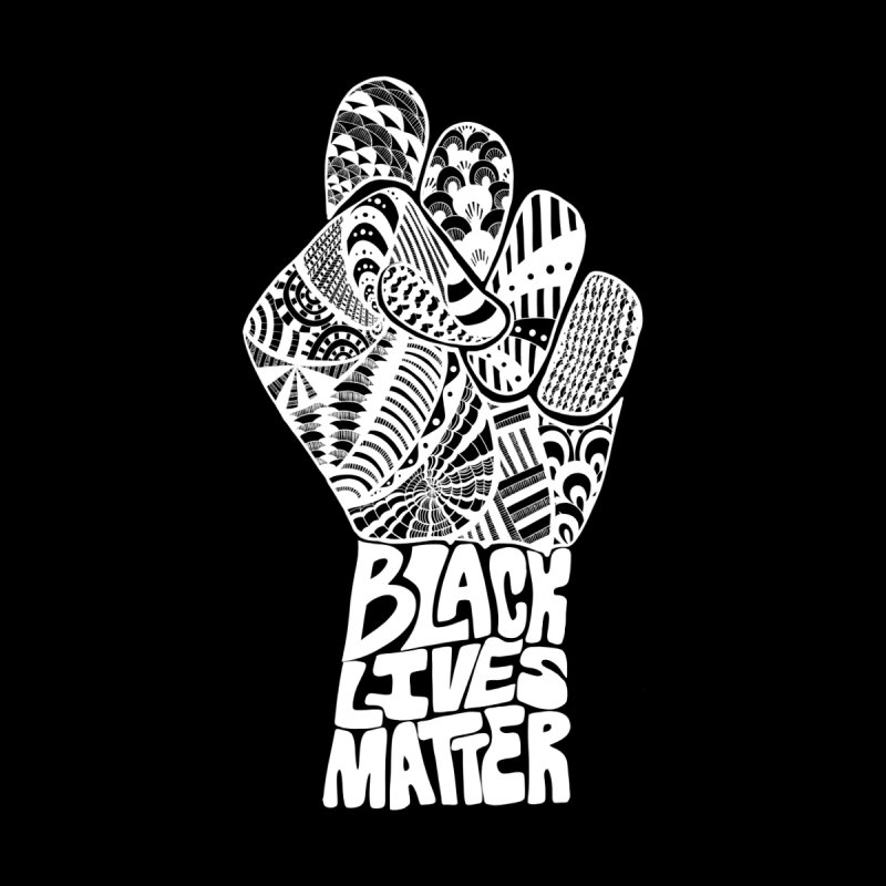 Black Lives Matter - W Home Fine Art Print by Incredibly Average Online Store