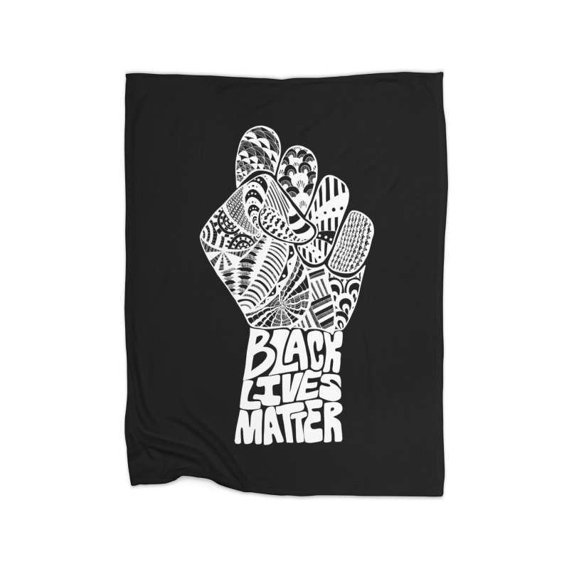 Black Lives Matter - W Home Blanket by Incredibly Average Online Store