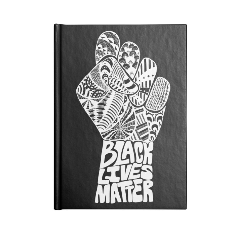 Black Lives Matter - W Accessories Notebook by Incredibly Average Online Store