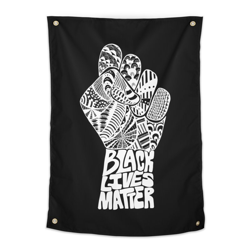 Black Lives Matter - W Home Tapestry by Incredibly Average Online Store