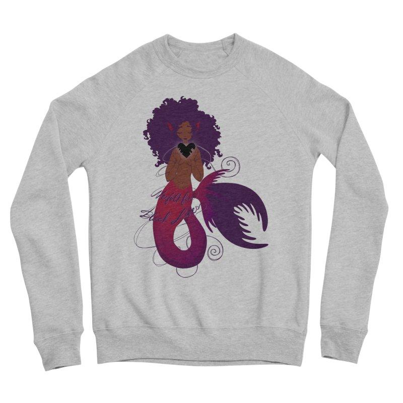 Merfolk for Black Lives Men's Sweatshirt by Incredibly Average Online Store