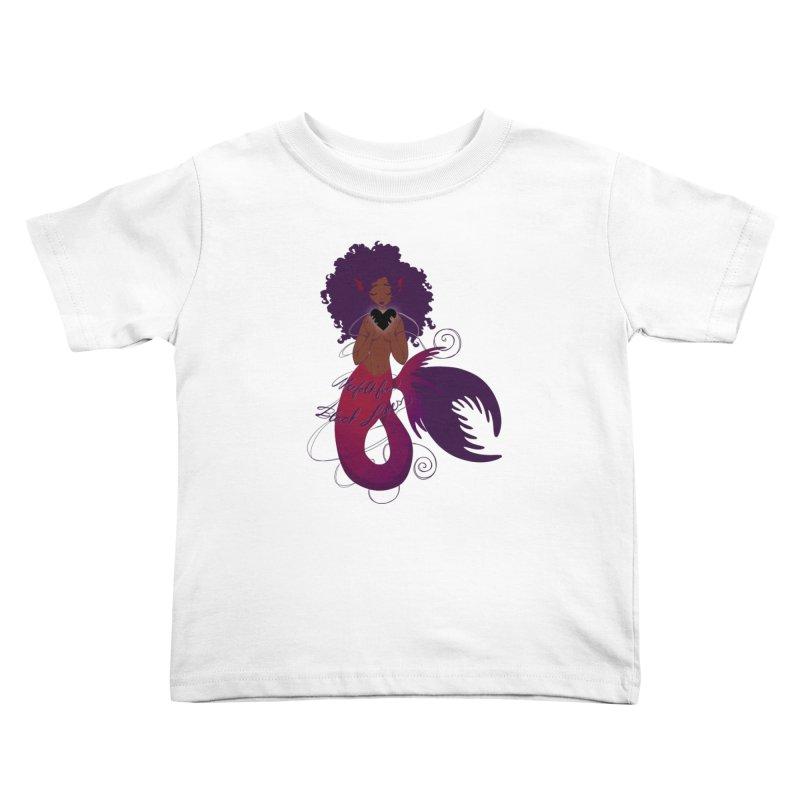 Merfolk for Black Lives Kids Toddler T-Shirt by Incredibly Average Online Store