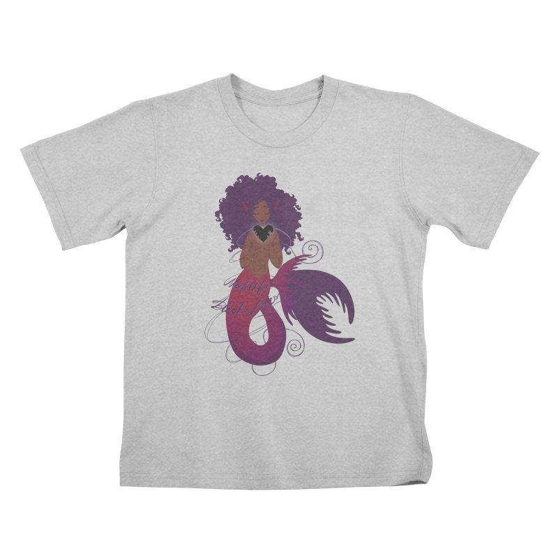 Merfolk for Black Lives Kids T-Shirt by Incredibly Average Online Store