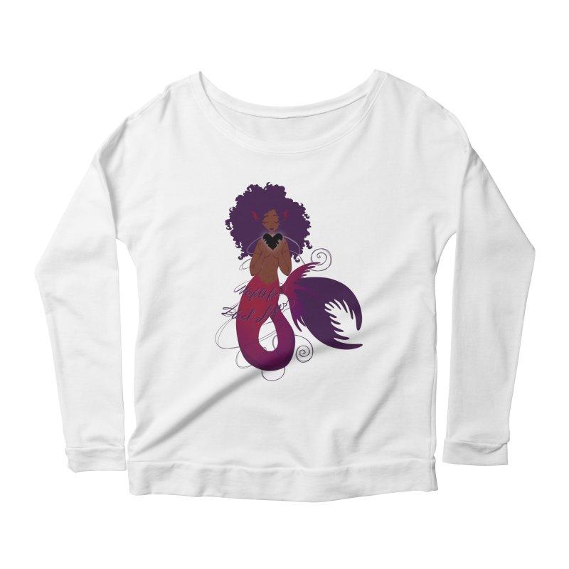 Merfolk for Black Lives Women's Longsleeve T-Shirt by Incredibly Average Online Store