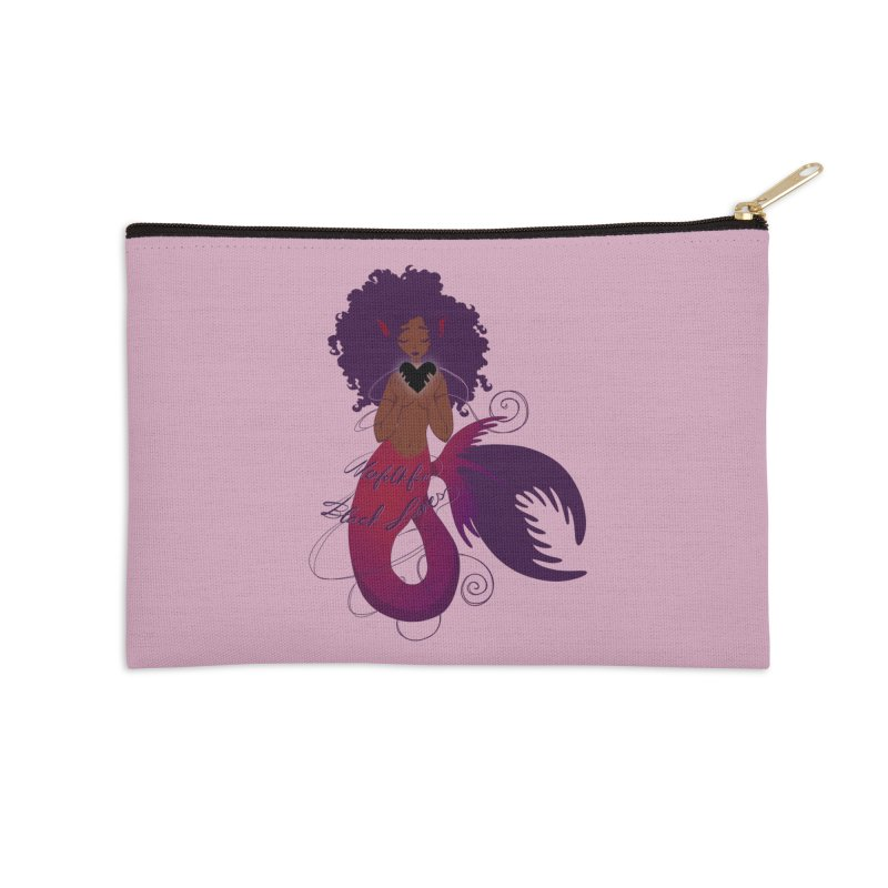 Merfolk for Black Lives Accessories Zip Pouch by Incredibly Average Online Store