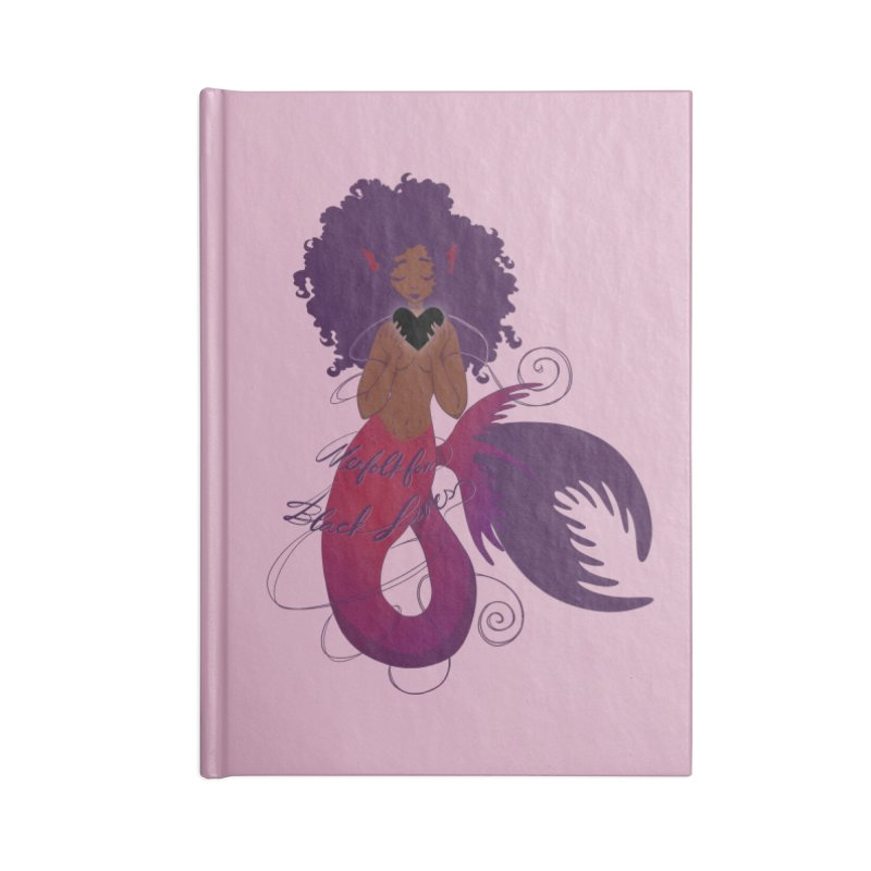 Merfolk for Black Lives Accessories Notebook by Incredibly Average Online Store