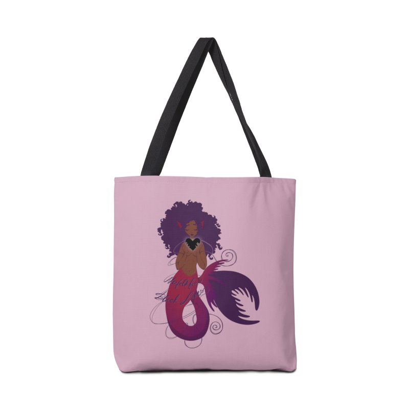 Merfolk for Black Lives Accessories Bag by Incredibly Average Online Store