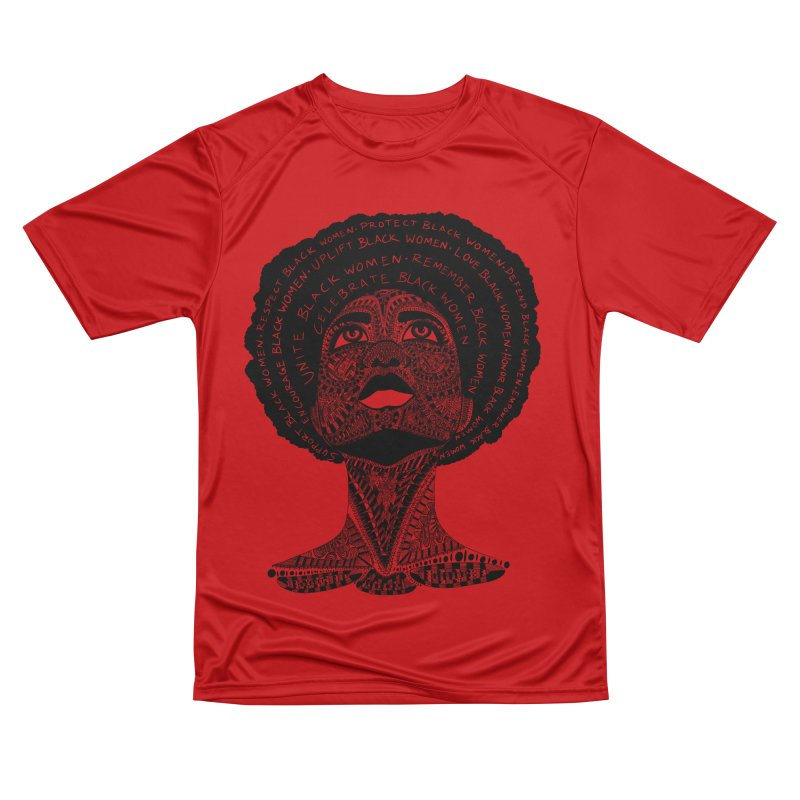 Support Black Women Men's T-Shirt by Incredibly Average Online Store