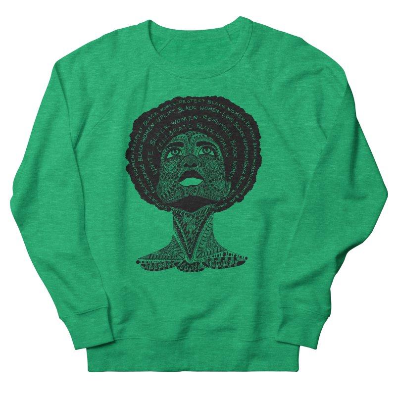 Support Black Women Women's Sweatshirt by Incredibly Average Online Store