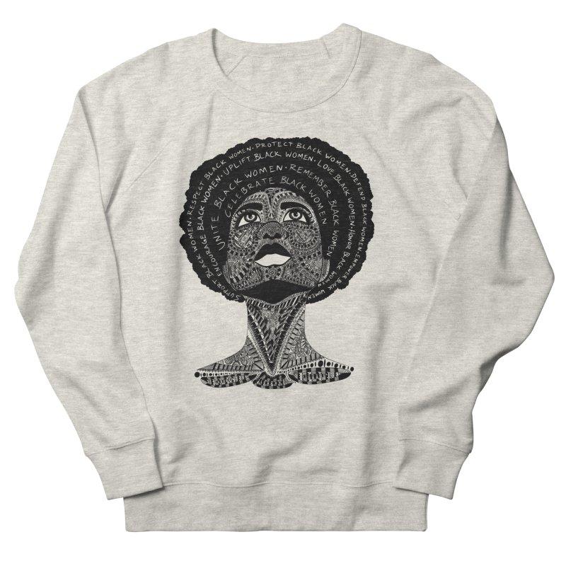 Support Black Women Men's Sweatshirt by Incredibly Average Online Store