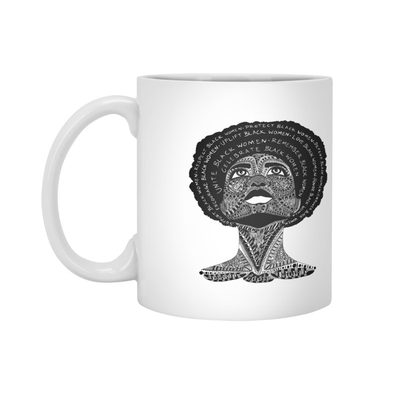 Support Black Women Accessories Mug by Incredibly Average Online Store