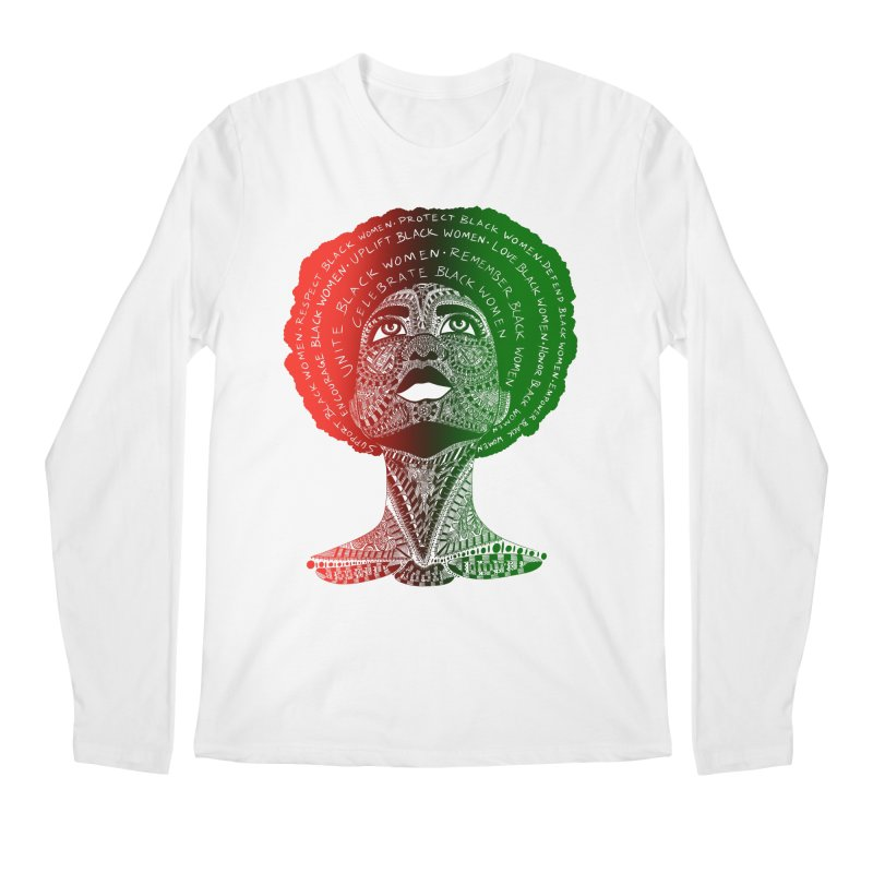 Celebrate Black Women Men's Longsleeve T-Shirt by Incredibly Average Online Store