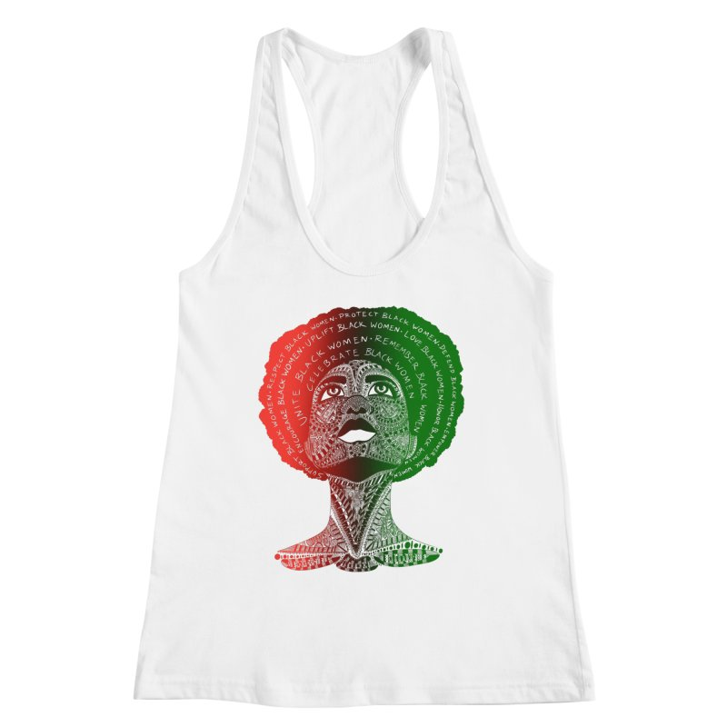 Celebrate Black Women Women's Tank by Incredibly Average Online Store