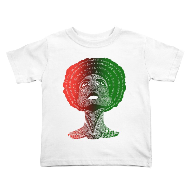 Celebrate Black Women Kids Toddler T-Shirt by Incredibly Average Online Store