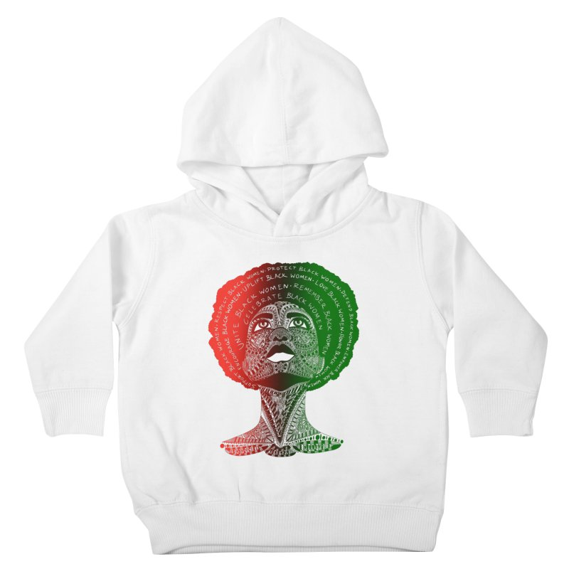 Celebrate Black Women Kids Toddler Pullover Hoody by Incredibly Average Online Store