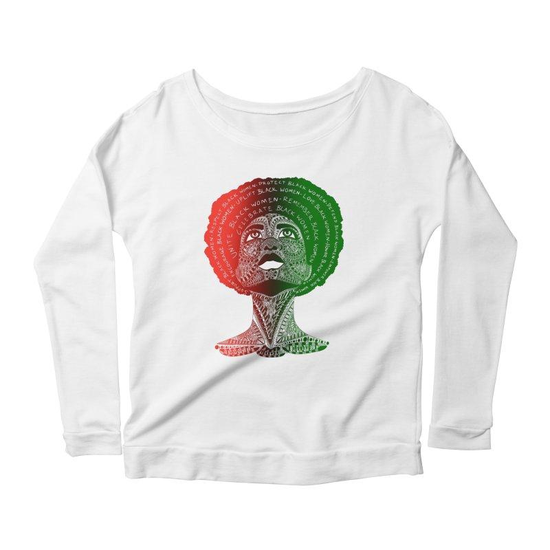Celebrate Black Women Women's Longsleeve T-Shirt by Incredibly Average Online Store