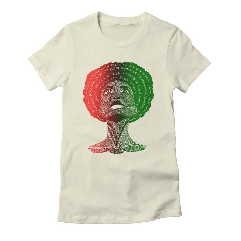 Celebrate Black Women Women's T-Shirt by Incredibly Average Online Store