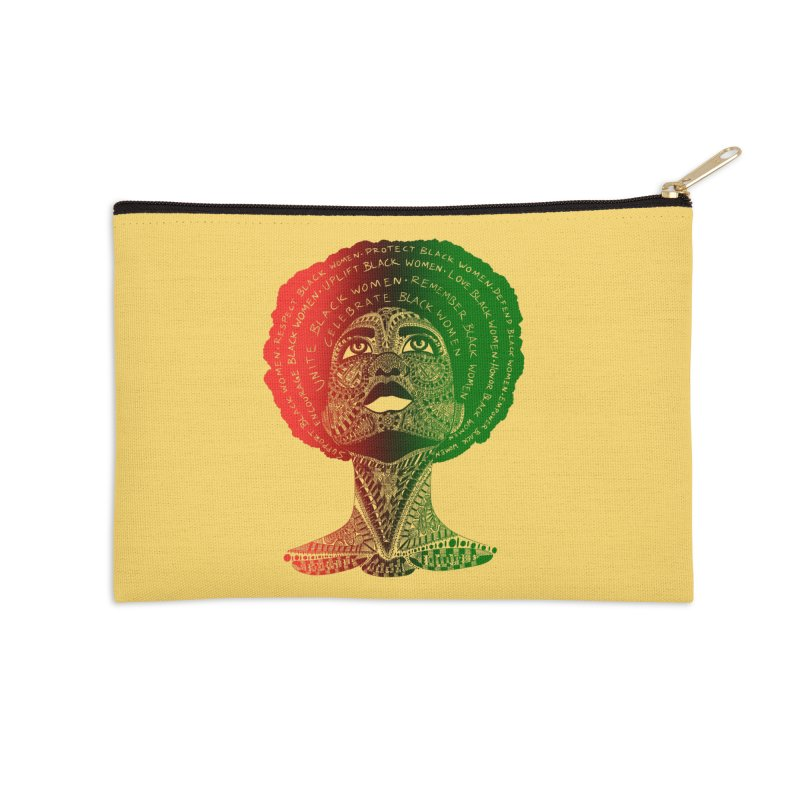 Celebrate Black Women Accessories Zip Pouch by Incredibly Average Online Store