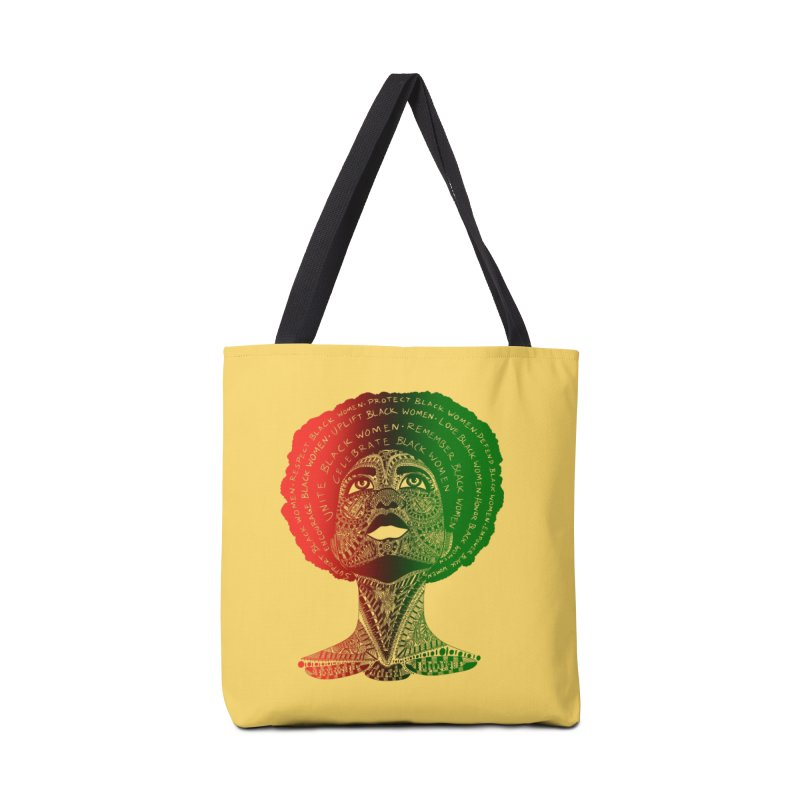 Celebrate Black Women Accessories Bag by Incredibly Average Online Store