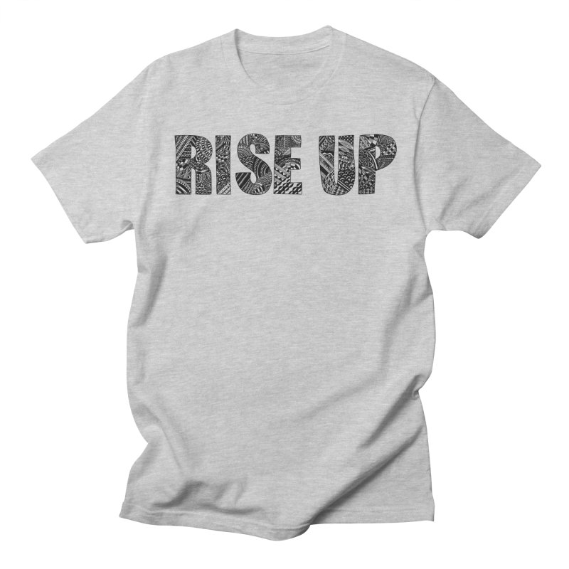 Rise Up Men's T-Shirt by Incredibly Average Online Store
