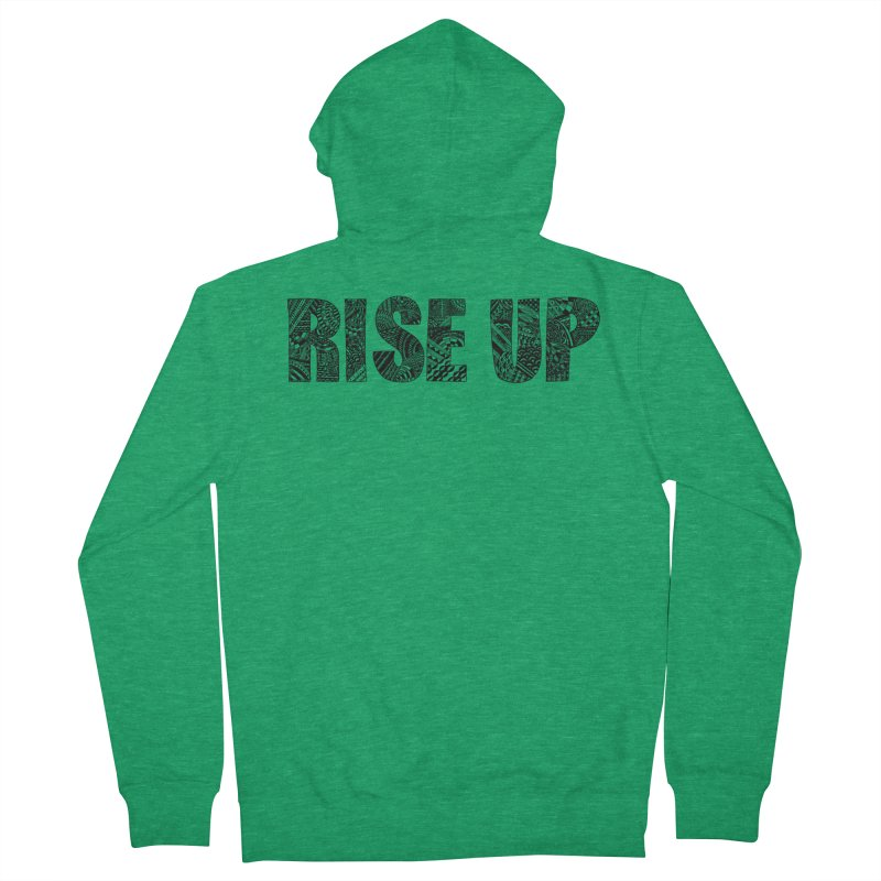 Rise Up Men's Zip-Up Hoody by Incredibly Average Online Store