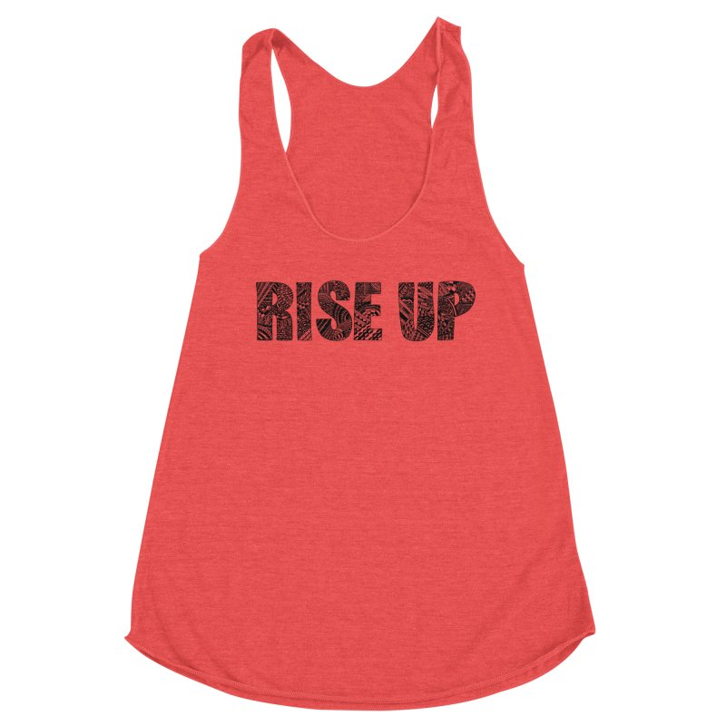 Rise Up Women's Tank by Incredibly Average Online Store