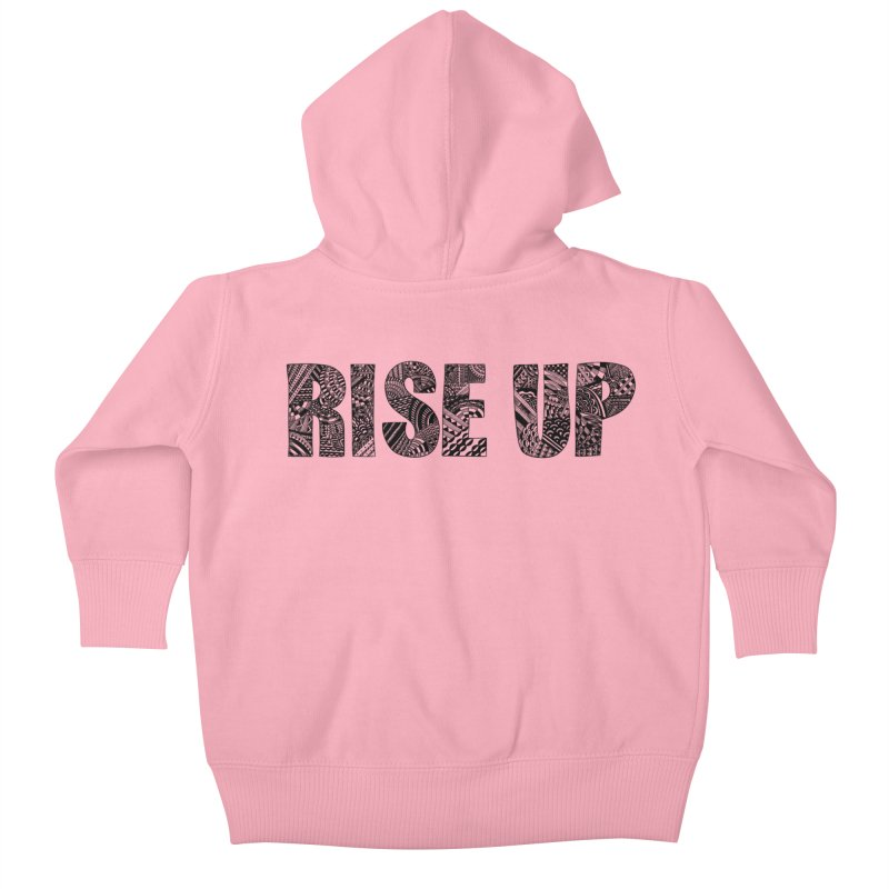Rise Up Kids Baby Zip-Up Hoody by Incredibly Average Online Store