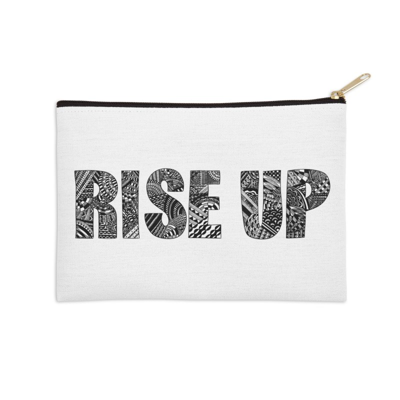 Rise Up Accessories Zip Pouch by Incredibly Average Online Store