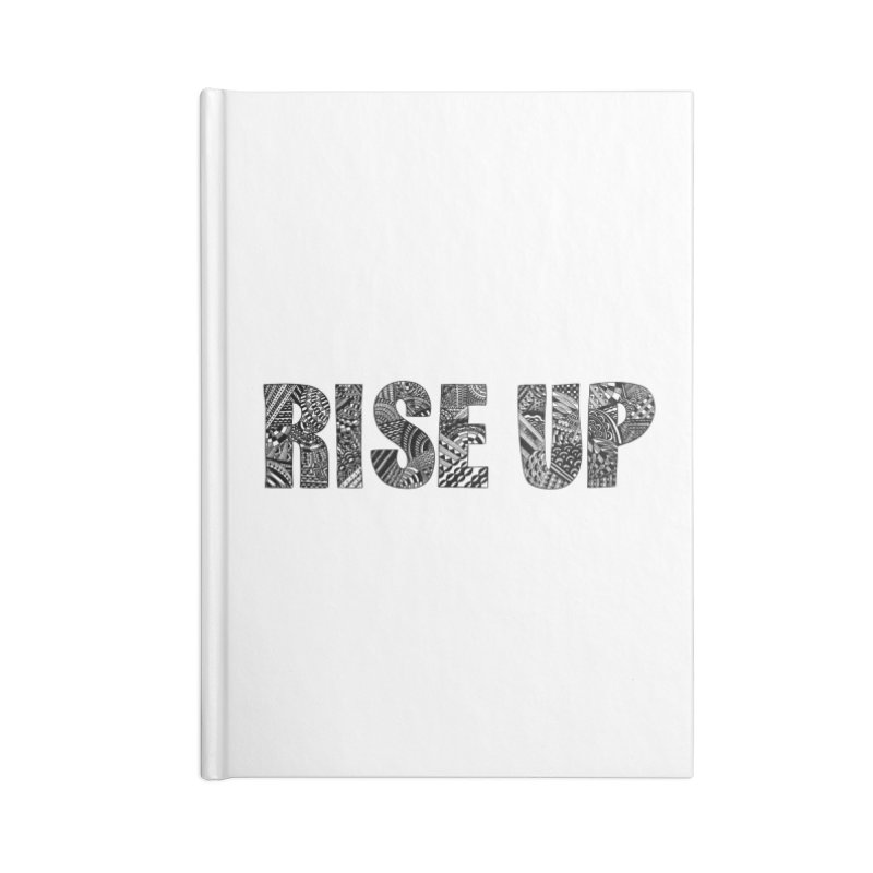 Rise Up Accessories Notebook by Incredibly Average Online Store