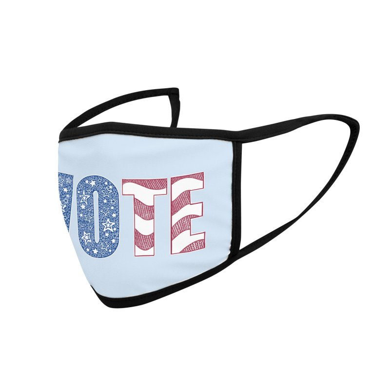 Vote! Accessories Face Mask by Incredibly Average Online Store
