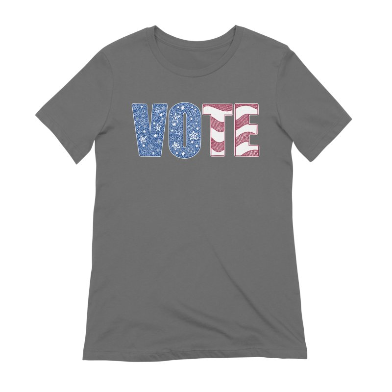 Vote! Women's T-Shirt by Incredibly Average Online Store