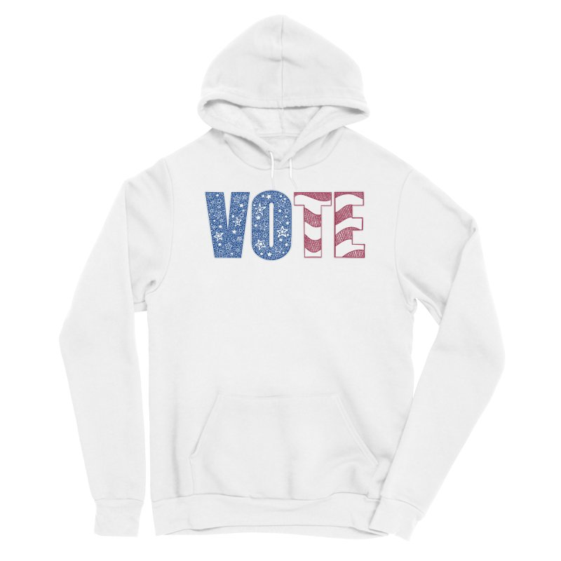 Vote! Men's Pullover Hoody by Incredibly Average Online Store