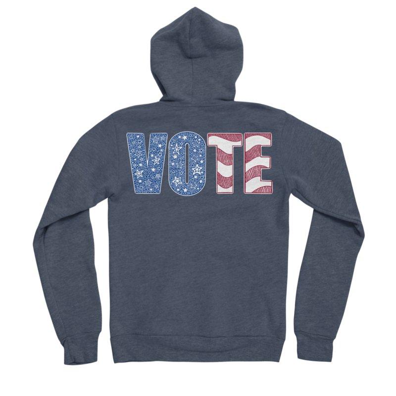 Vote! Men's Zip-Up Hoody by Incredibly Average Online Store
