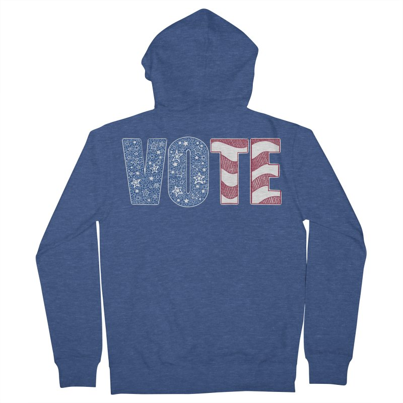Vote! Men's Zip-Up Hoody by Incredibly Average Online Store