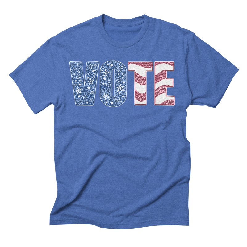 Vote! Men's T-Shirt by Incredibly Average Online Store