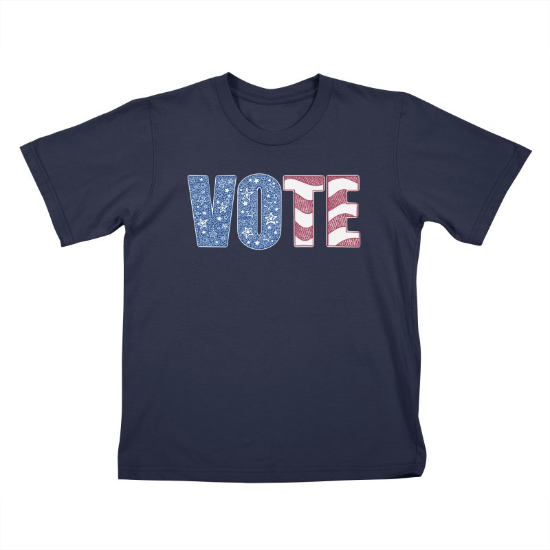 Vote! Kids T-Shirt by Incredibly Average Online Store