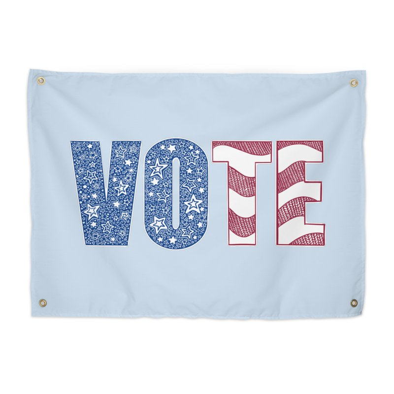 Vote! Home Tapestry by Incredibly Average Online Store