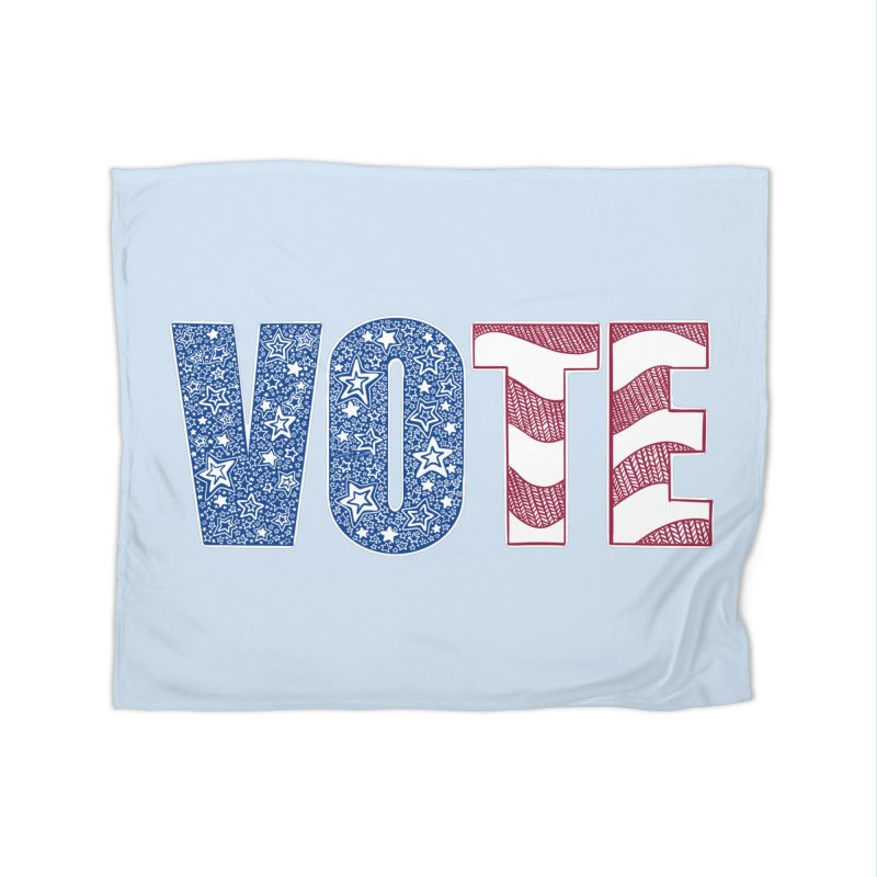 Vote! Home Blanket by Incredibly Average Online Store
