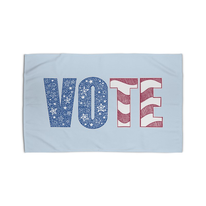 Vote! Home Rug by Incredibly Average Online Store