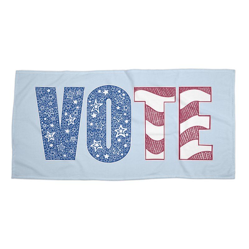 Vote! Accessories Beach Towel by Incredibly Average Online Store